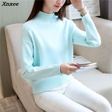 Xnxee women fashion  sweater sets of 4 real head loose yarn knitted