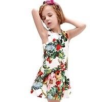 2016 New Arrived Summer Girl Dress Flower Kids Dresses For Girls Princess Dress Girls Milan Creations