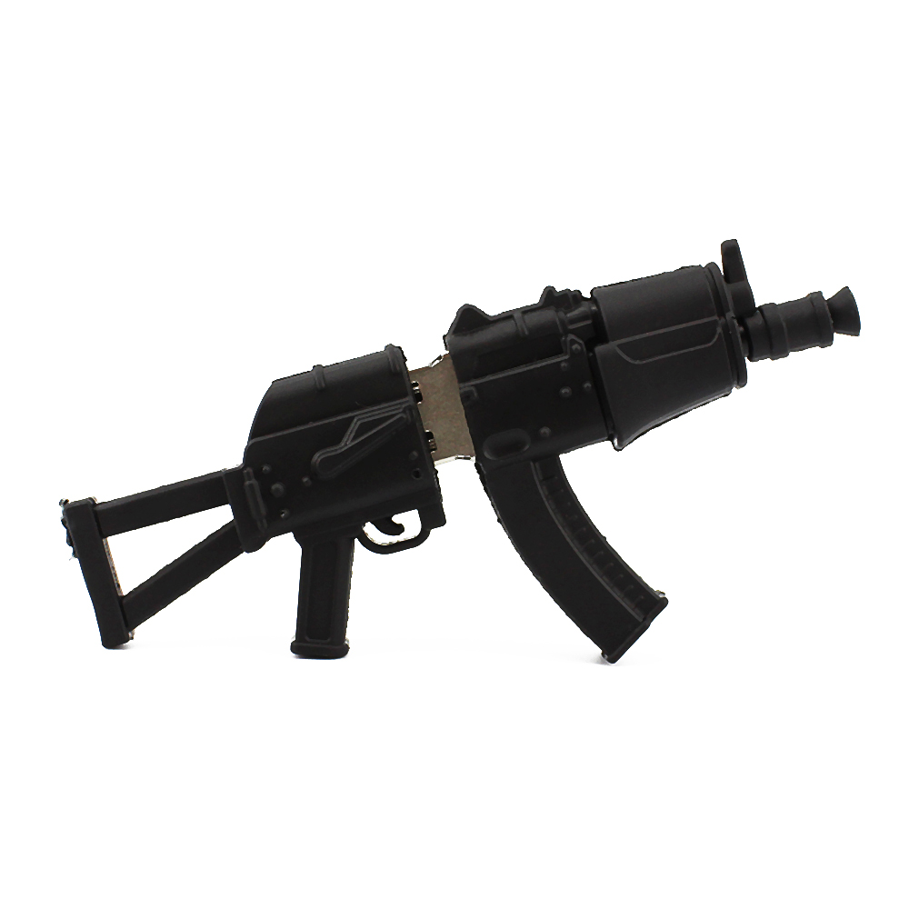USB Flash Drive Rubber AK47 Gun Shape USB 2 0 Pen Drive 8gb 16gb 32gb 64gb