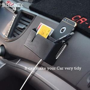 Image 1 - Auto telefon halter Handy Ständer für iphone samsung huawei xiaomi Halterung lagerung box halterung Universal Heißer freeship