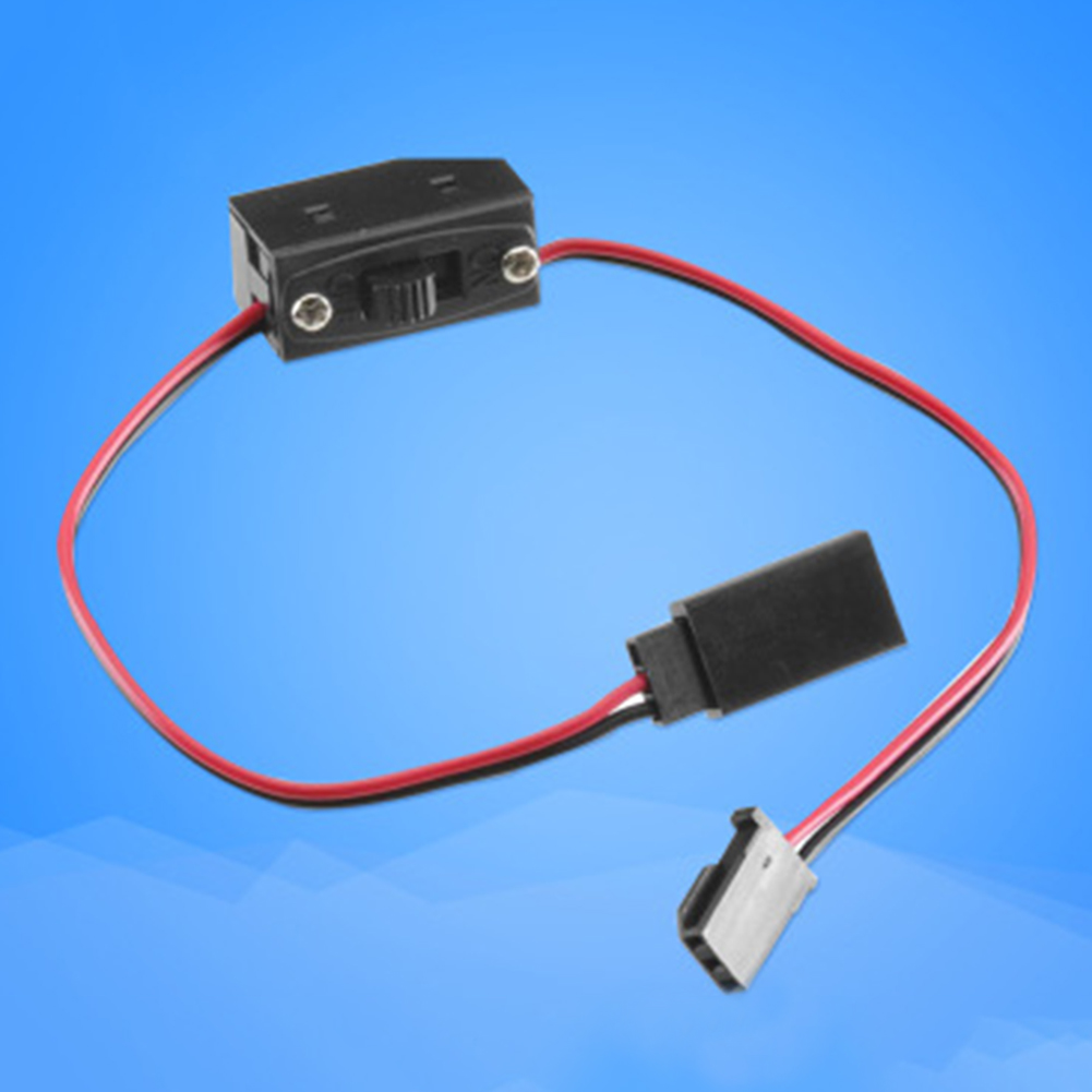 ON/OFF Long Durable Receiver Battery Power Switch Lead Parts RC Universal Two Way Connectors For JR/Futaba