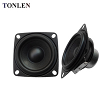 TONLEN 2pcs 2 inch 4 ohm Speaker Audio Full Range 10W Computer TV Speakers 52mm Repair Portable 4ohm Loudspeaker