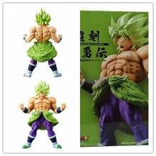 Animación japonesa Seven Super Saiya Choukokubuyuuden BROLY, colección de estatuas de juguete y regalos de muñecas