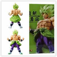 Japanse Animatie Zeven Super Saiya Choukokubuyuuden BROLY Standbeeld Collection Toy en Pop Geschenken