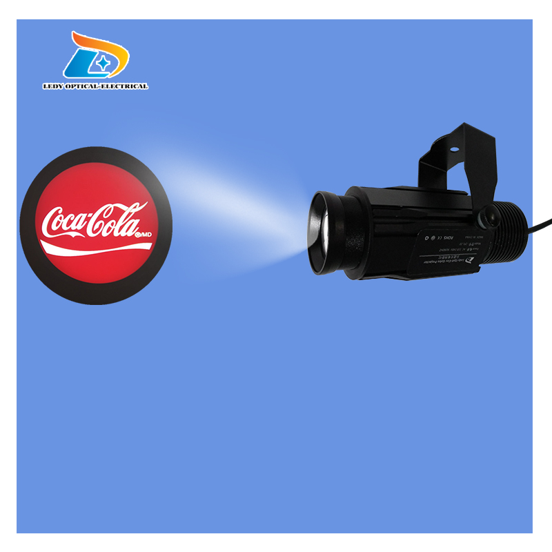 China Professional Branded OUTDOOR IP65 Rustproof Special Effects Gobo Projector 20W Gobo Logo Projector Logo Projection Light