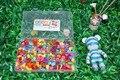 Более 420 шт. DIY Шарики для Детей игрушки/Браслет ожерелье Акрил loom bands Бисера набор для Девушки подарок/Дети Бусины с коробка