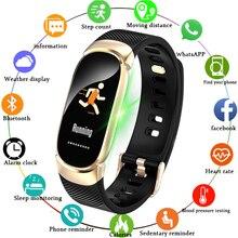 Купить с кэшбэком LIGE New IP68 Waterproof Smart Watch Men Fitness Tracker Heart Rate Blood Pressure Monitor Fashion Sports Watch For Android IOS