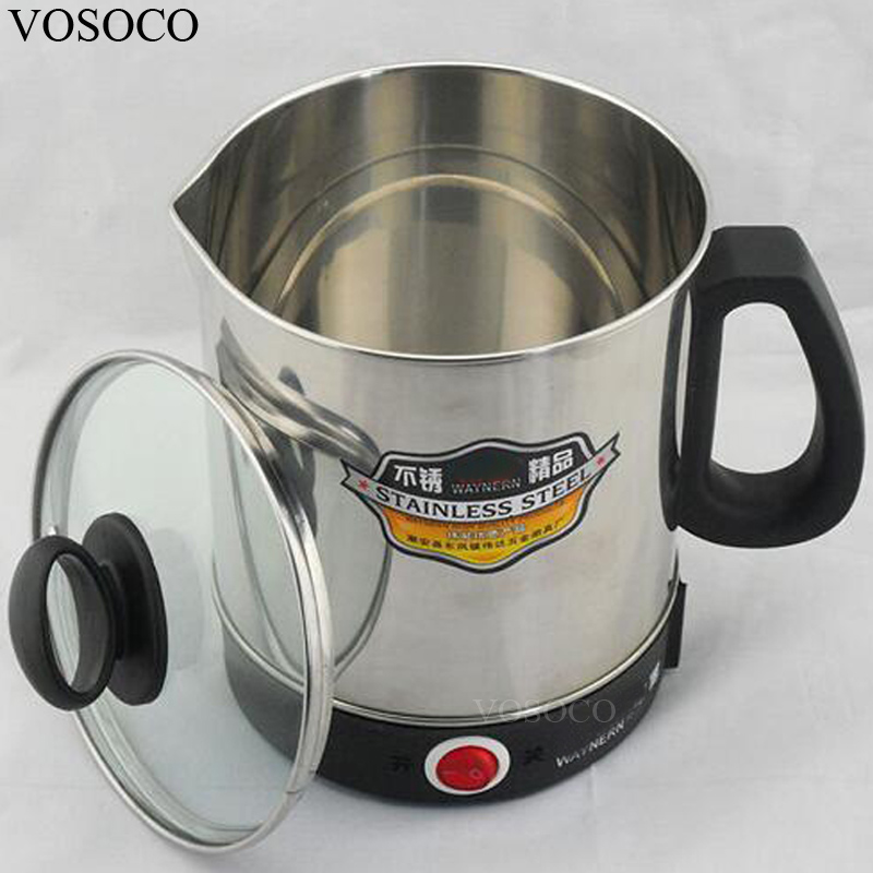 VOSOCO Boiling Water Heater Multi Function TRAVEL KETTLE Room Low Power Electric Kettle Small