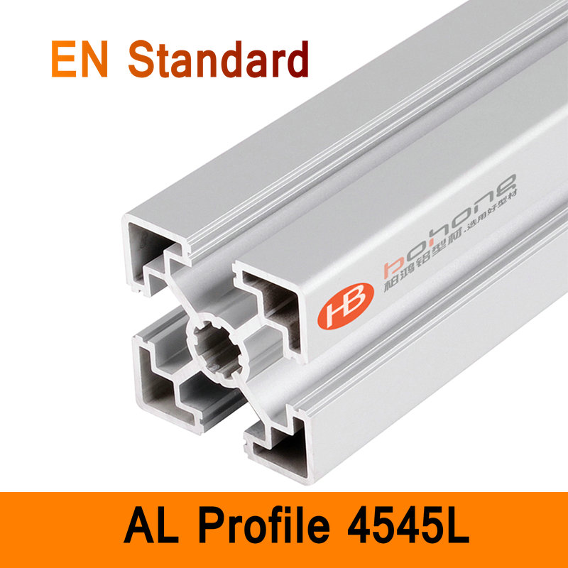 4545L Aluminium Profile EN Standard DIY Brackets Aluminium AL Extrusion CNC 3D DIY Printer Parts Aluminum Rectangle Pipe T Type aluminium cnc machining rapid prototyping aluminum parts processing page 5