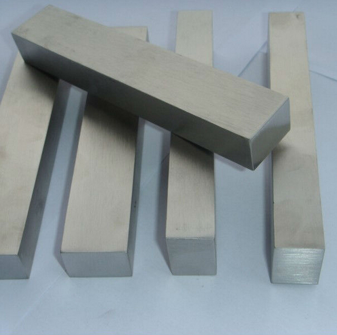 8x8mm Length 500mm Customized Aluminium Square Rectangular Flat Bar / Plate Widths Many Thicknesses And Lengths