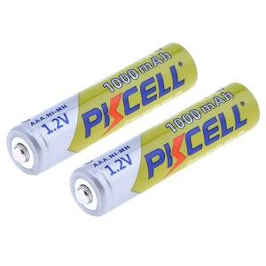 Image 4 - 12 ピース/ロット PKCELL ニッケル水素電池 AAA 1000mAh 1.2V ニッケル水素充電式バッテリー 3A 電池 Baterias カメラ懐中電灯用のおもちゃ