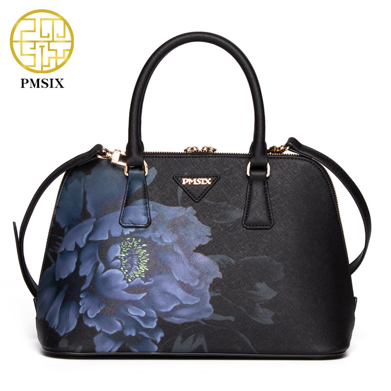 Luxury sac a main 2016 women handbags famous brand leather handbags high quality women tote bags print bag for lady's bolsas цена