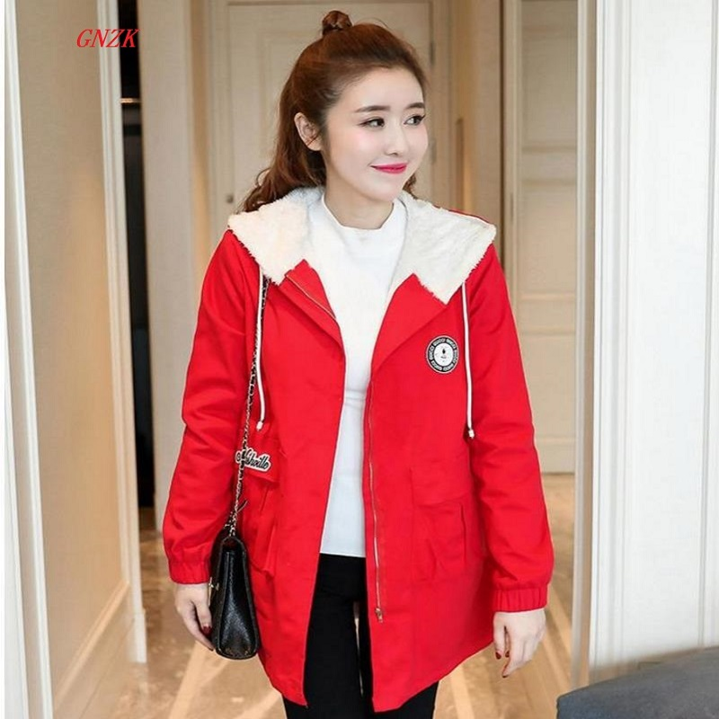 2017 new pregnant women maternity. Winter coat. Hooded windbreaker. Pregnant women with cashmere coat thick winter clothes