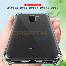 CASPTM For Xiaomi Redmi 5 Plus Note 6 Pro 6A Phone Case For Xiaomi Mi A2 8 Lite SE A1 Pocophone F1 Soft TPU Anti-fall Back Cover(China)
