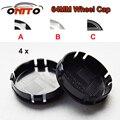 4 pcs 64mm crachá para auto roda caps logo roda de carro emblema capa v40/v60/s60/s60l/xc60 rótulo