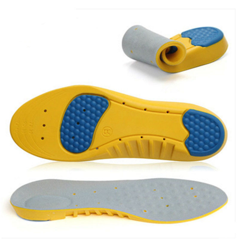 10 Pairs Sport Insole Shock Absorption Pads Running Sport Shoe Inserts Breathable Insoles Foot Care Men And Women цена