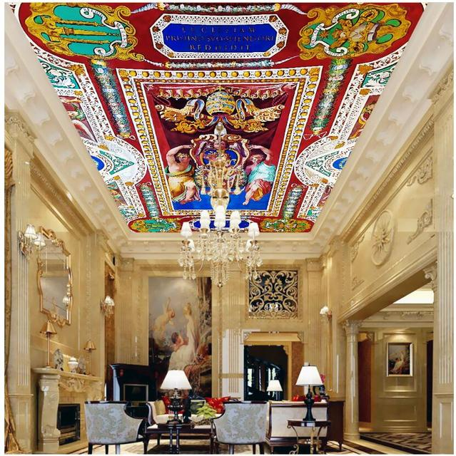 Custom Wallpaper Ceiling Murals Home Decor An Angel S Honor Is Crowned Painting Wall