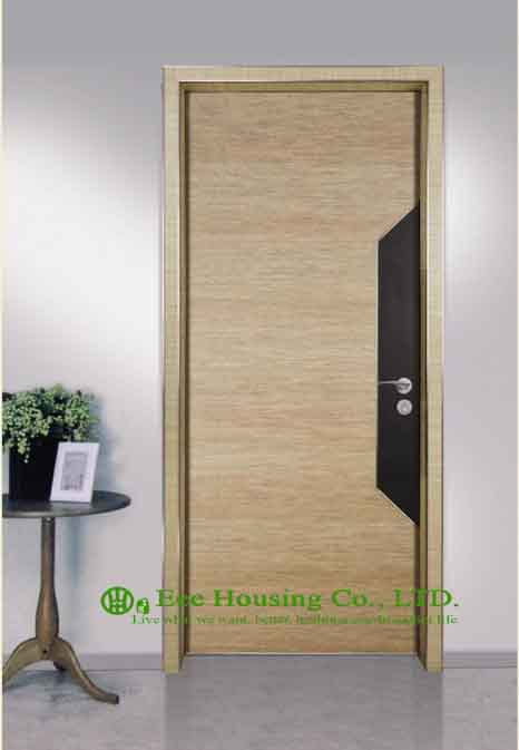Buy simple style aluminium hotel room for Simple room door design