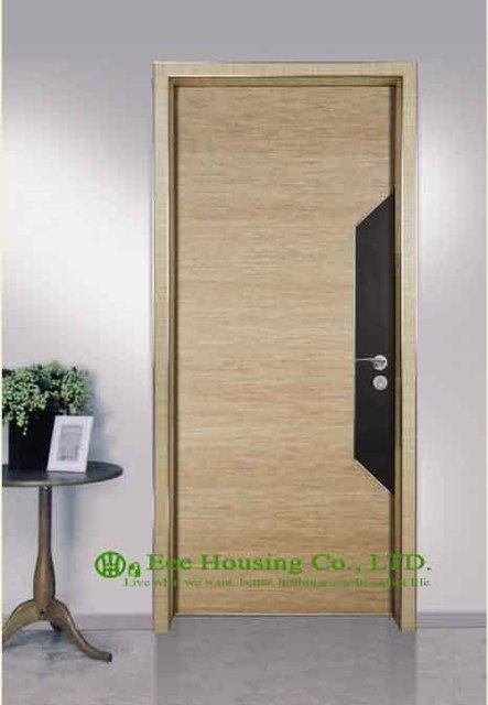 Simple style aluminium chambre dhôtel portes aluminium intérieur porte du restaurant moderne
