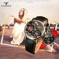 YAZOLE Кварцевые часы Женщина Часы 2016 Люксовый Бренд Женские Часы Наручные Часы Дамы Кварцевые Часы Montre Роковой Relógio Feminino