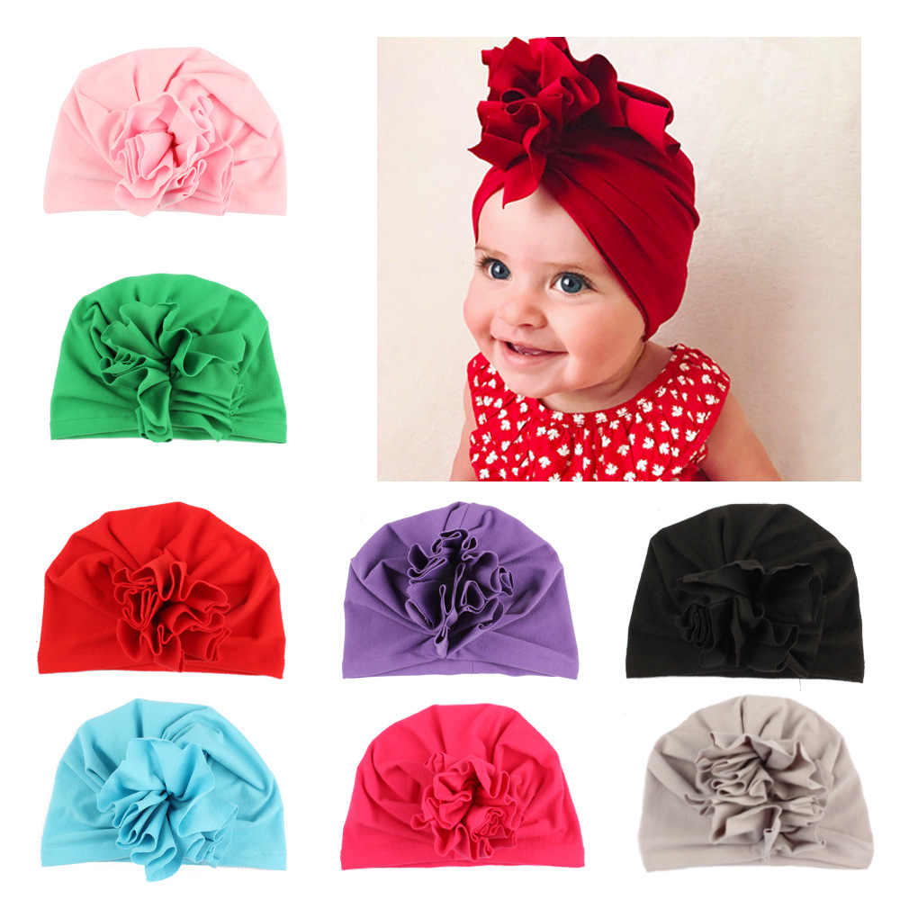 1d82701e048f4 Fashion a cap for a boy 10 color baby hat Bow tie baby Turban a headscarf
