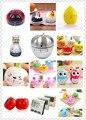 Útil Lindo Mini Estilo Fruit Cocina Alarma del Temporizador De cocina 60 Minutos Acero Inoxidable de La Manera Mecánica Temporizador Digital de Alarma