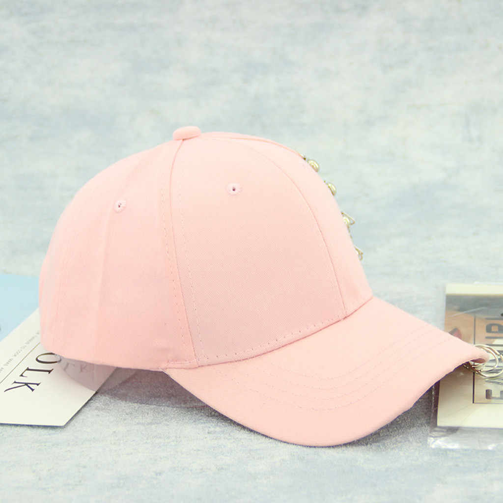 Women  Print Decorative Baseball Cap Summer Ladies Casual Adjustable Hoop Baseball Cap Snapback Hat czapka z daszkiem damska