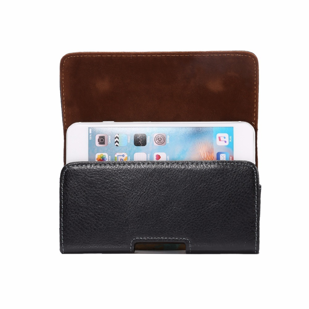 Universal Holster Bag Magnetic Pouch Phone Cover Waist Leather Case For Samsung S6 S7 Edge Note 5 8 For iPhone 5 5S X 6 6S 7 8 Plus Wallet Cover