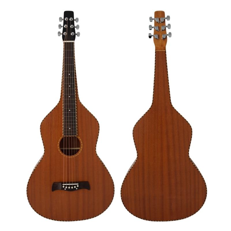 Modèle primaire reliure à corde avec corps en acajou laminé Weissenborn modèle de guitare hawaïenne HG001B