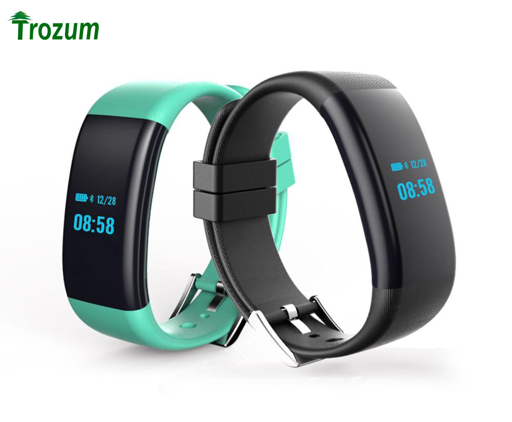 New DF30 Smart Bracelet Bluetooth 4 0 Heart Rate Monitor Blood Pressure Oxygen Monitor Wristband