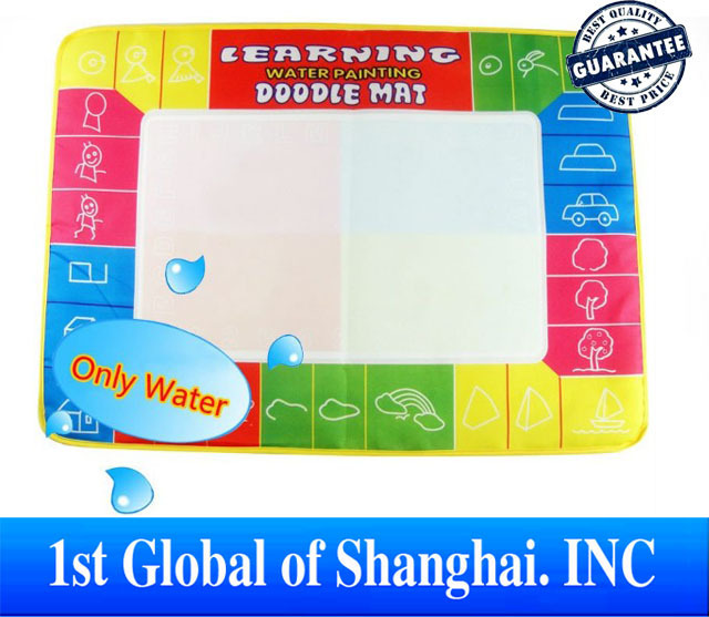 Free shipping In Stock 73X49cm Big size Magic Water Doodle Mat with 1 Magic Pen/Water Drawing t Mat/Water Doodle Mat