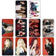10Pcs/Set BLACKPINK KILL THIS LOVE Album Self Made Paper Lomo Card Photo Card Sticker Poster Bus Card Sticky(China)