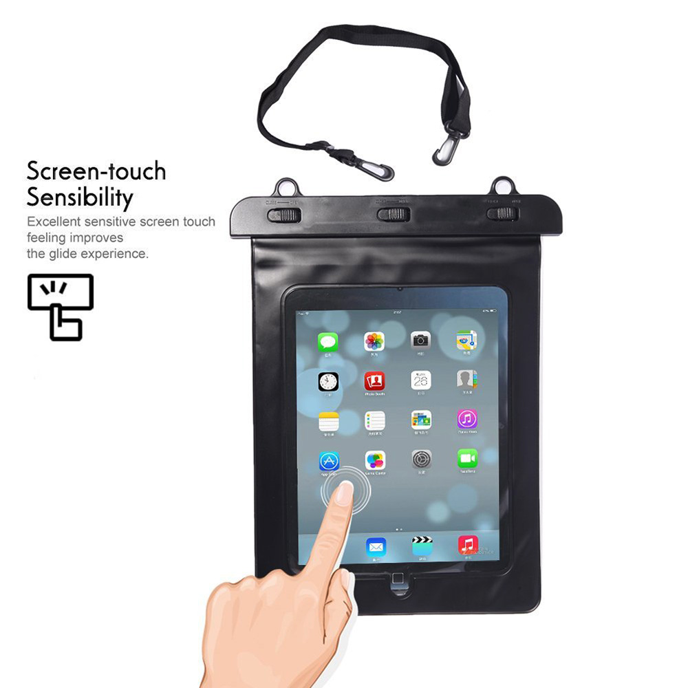 new arrival d50db f42a1 Waterproof Pouch Bag Case for iPad Pro 9.7, For iPad Air 2, For ...