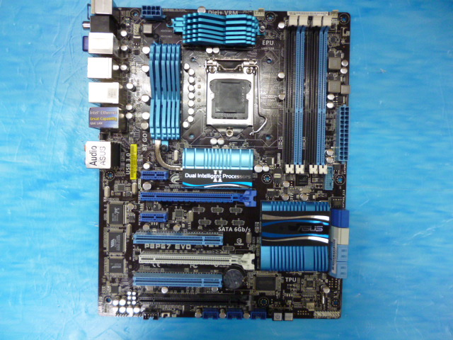 P67 series P8P67 EVO overclocking large board with dual network card support I5 3570 I7 2600