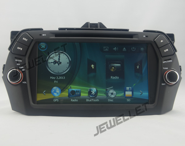 Car DVD GPS radio Navigation for Maruti Suzuki Ciaz 2014-2016 with Bluetooth Ipod 1080P