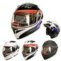 2017 Flip Up Motorcycle Helmet Double Lens Casco Capacetes Helmet Cyclegear CG902