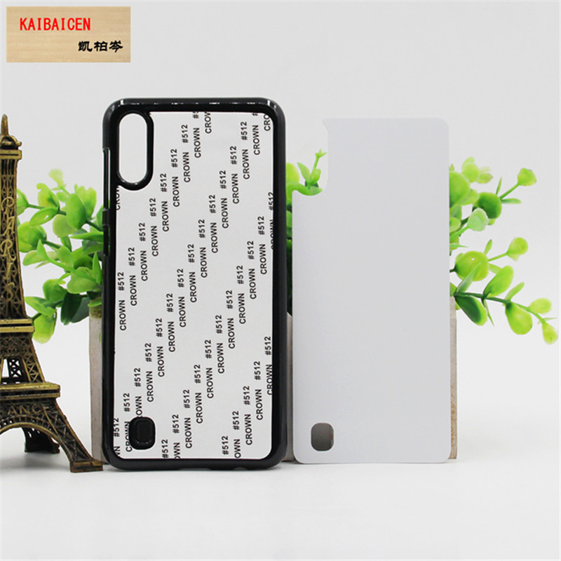 DHL Freeshipping For Samsung M10 Case TPU PC soft 2D Sublimation Blank Heat transfer Phone Cover