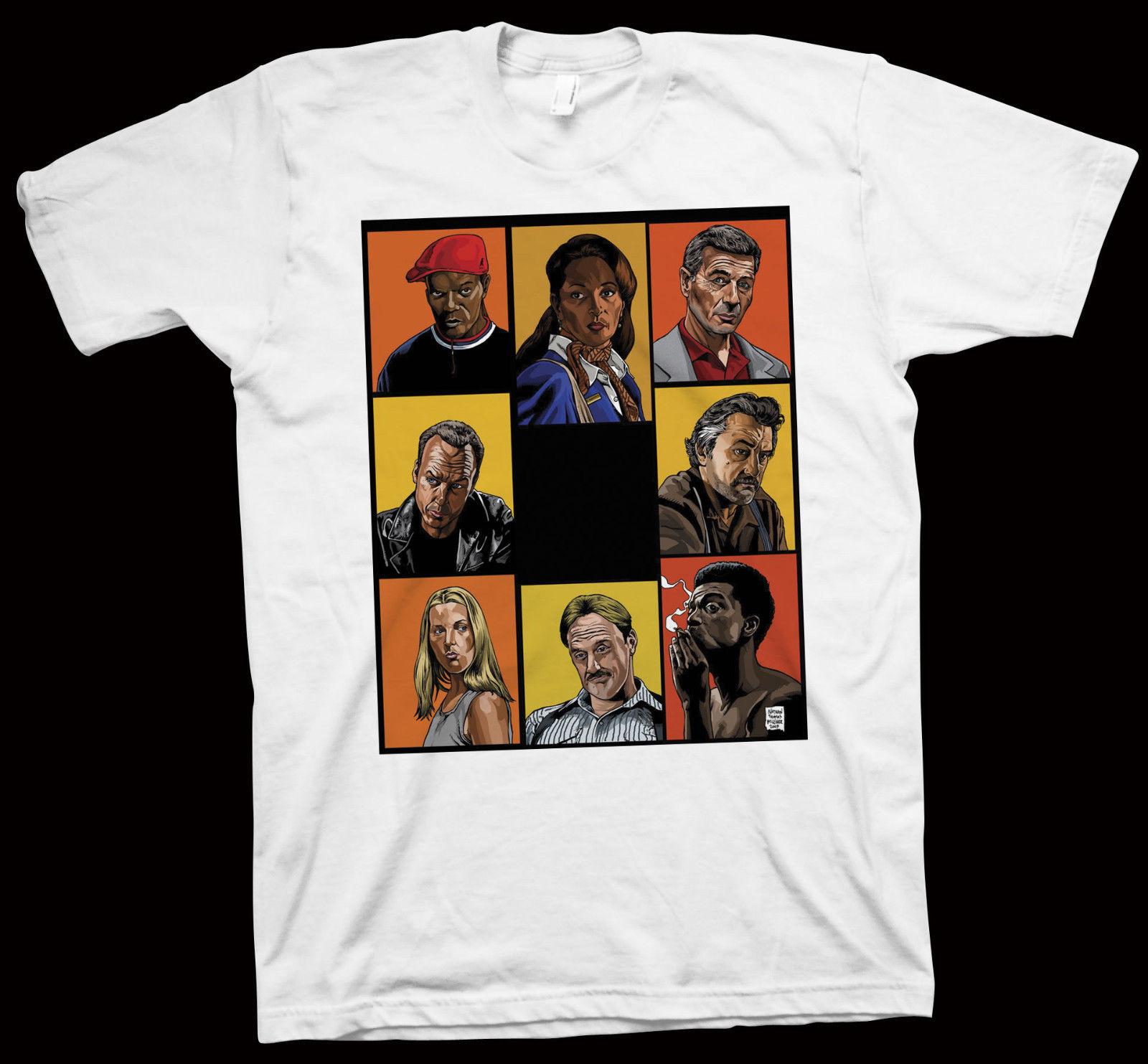 jackie-brown-t-shirt-quentin-font-b-tarantino-b-font-pam-grier-samuel-l-jackson-cinema-film-fashion-short-sleeve-sale-100-cotton