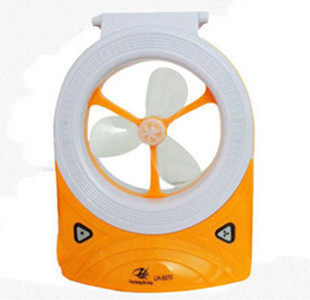 freeshipping rechargeable table fan, with LED light, 4V 2.5AH battery, outdoor fans, can used pver 8H, electric fan portable fan