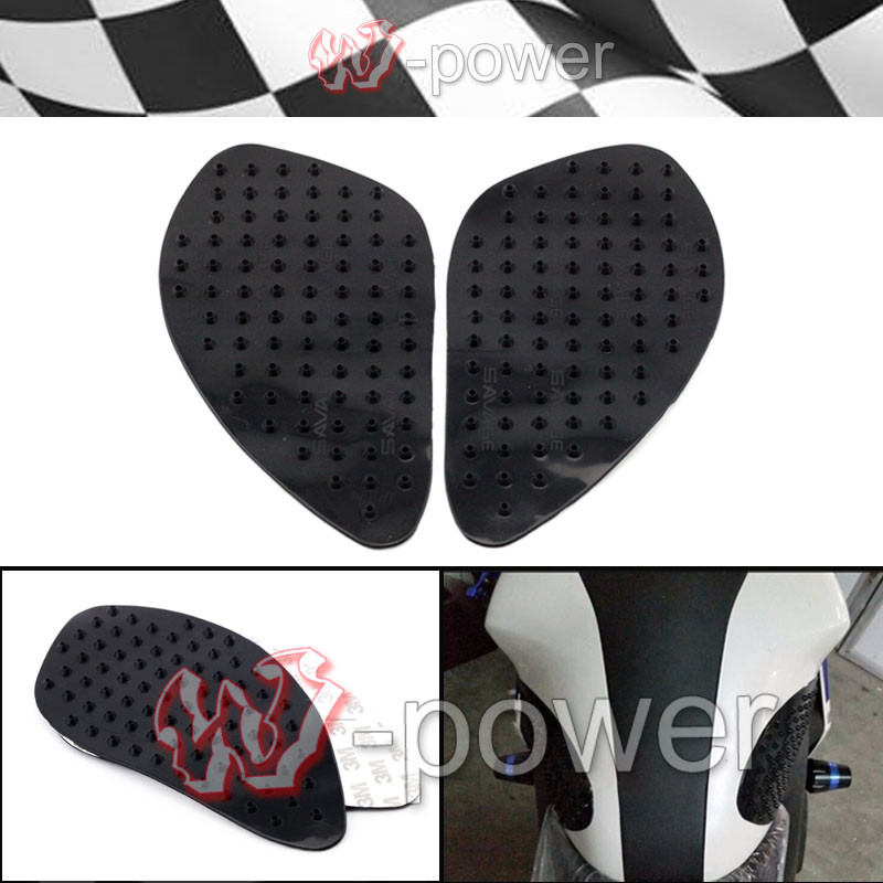 fite For YAMAHA YZF R25 R3 YZF-R3 YZF-R25 Motorcycle Tank Traction Pad Side Gas <font><b>knee</b></font> grip protector anti-slip sticker 3Mt Black