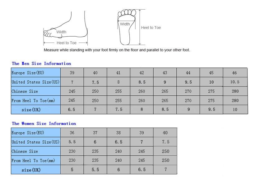 merrell size chart eu usa