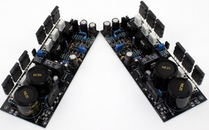 Image 4 - A2 fet 완전 대칭 전력 증폭기 보드 (완성 된 보드 1 쌍) 원본 tt1943/tt5200 사용
