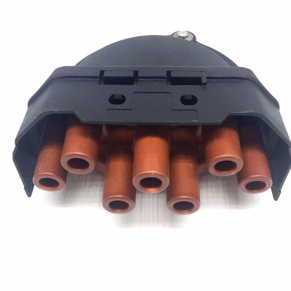Black Distributor Cap and Cover Kit for for Citroen XM Peugeot 605 Renault Safrane 3.0 96054877 594147 6021R
