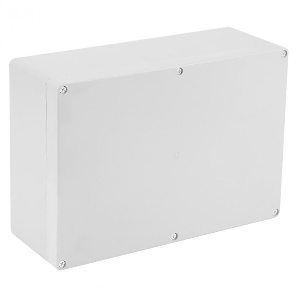 1pc Plastic Electronic Project Case Cover Waterproof Enclosure Box 263x185x95mm Outdoor Junction Box Power Supply Units 4pcs a lot diy plastic enclosure for electronic handheld led junction box abs housing control box waterproof case 238 134 50mm
