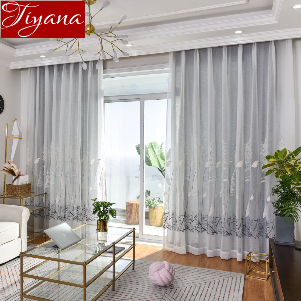 Aliexpress.com : Buy Curtain Gray for Window Bedroom Plant ...