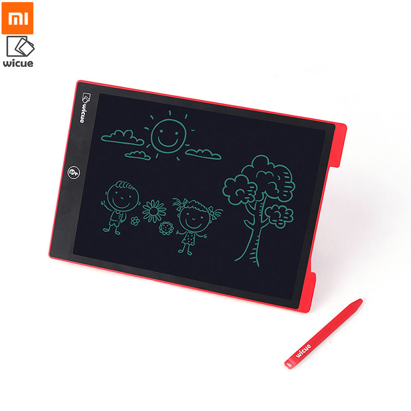 buy xiaomi mijia youpin wicue lcd handwriting board writing tablet 12 inch no. Black Bedroom Furniture Sets. Home Design Ideas