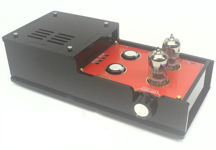 Finished 6H3N Valve Tube Preamplifier Based on Matisse Circuit HIFI Preamp 2017 New