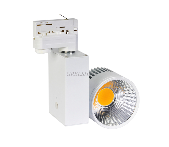 High Quality 120lM/W CRI >80-95 Dimmable 10W LED Track Light 2/3/4 wire Clothing Store Lighting Ceiling Spot LED AC100-277V 5year warranty dimmable led track light 20w 120lm w 2 3 4 wire available commercial spot led ac100 240v 8pcs lot
