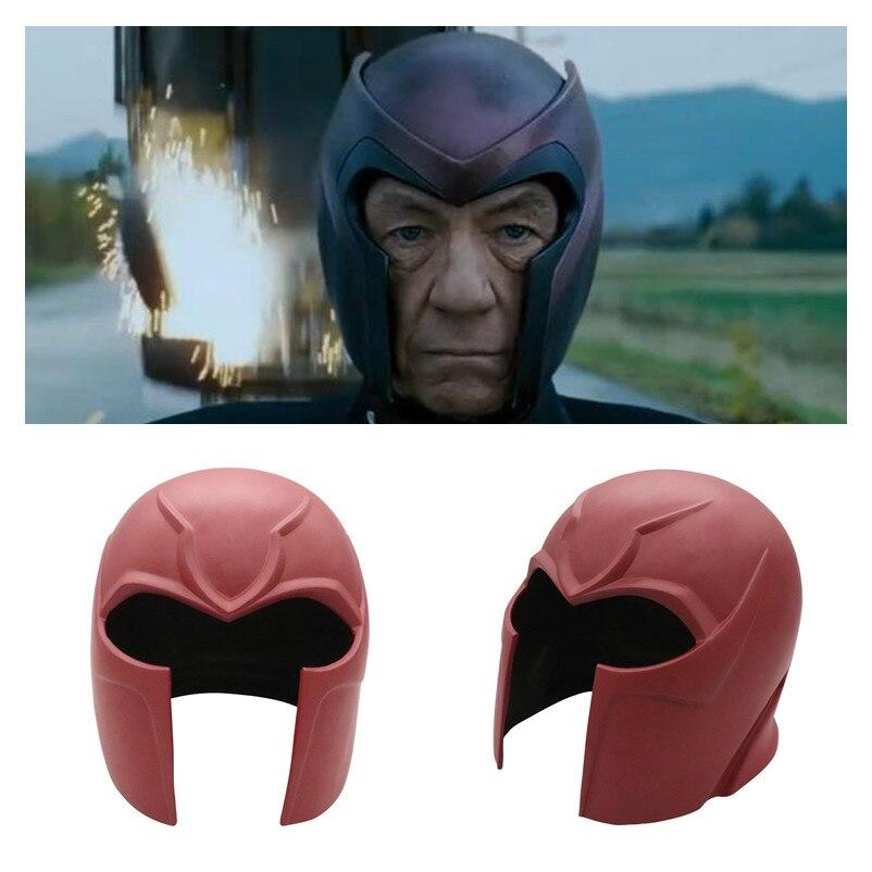New Anime X-Men Marvel Superhero Magneto Cosplay Masks Max Eisenhardt Mask PVC Helmet Party Masquerade Carnival Halloween Props