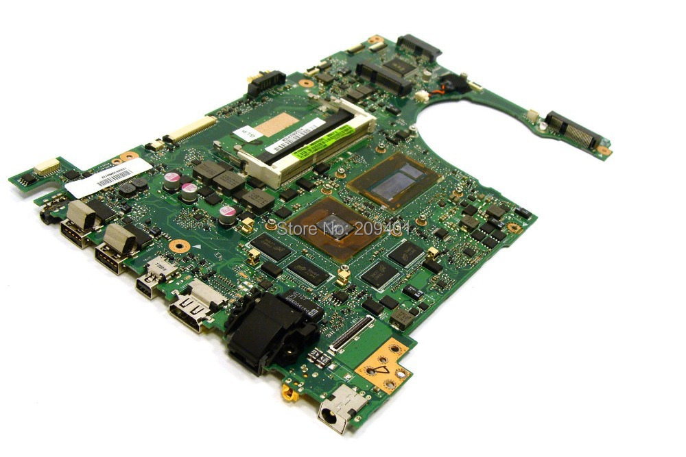 For ASUS Q550L Q550LF Laptop Motherboard Mainboard 60NB0230-MBB000 Fully tested all functions Work Good